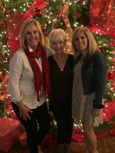 My dear friends, Lisa and Michele joined us at the PVIC  to celebrate the completion of my treatment on Christmas Eve.