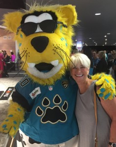"Jaguars ""Meet me on the 50""  night."
